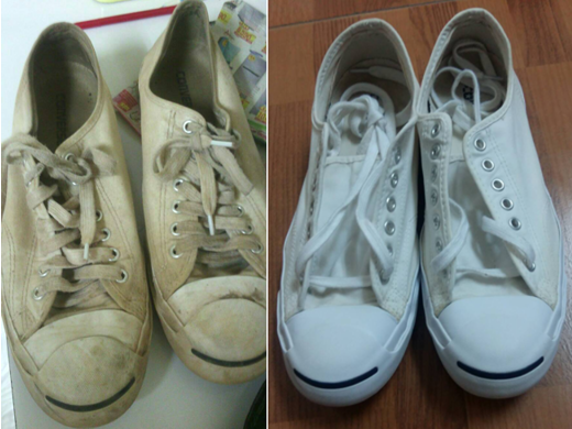 Remove Stains from Shoes