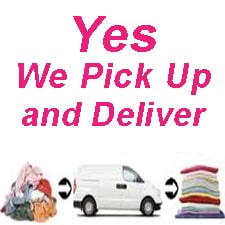 pick up & deliver laundry Chiang Mai